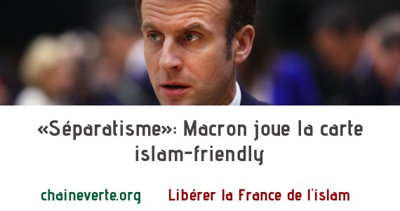 «Séparatisme»: Macron joue la carte islam-friendly